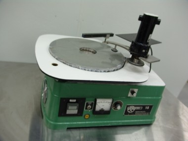 Used Lapmaster 15 table top, 15&quot; platten